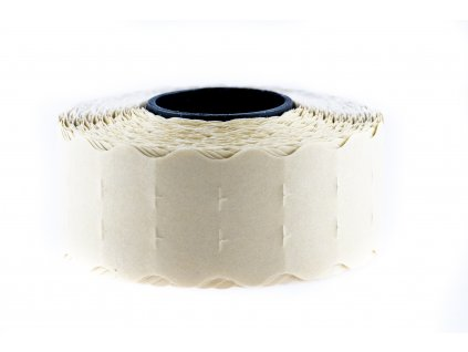 ZE CONTACT 22 x 12 mm, bílé, oblé