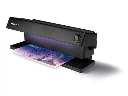 Detektor padělků - ultrafialový tester bankovek Safescan 45