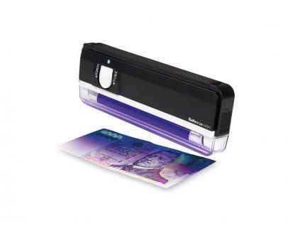 Detektor padělků - ruční ultrafialový tester bankovek Safescan 40H