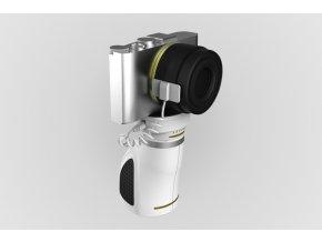 Stojna Myriad pro zabezpečení fotoaparátu s integrovaným navijákem