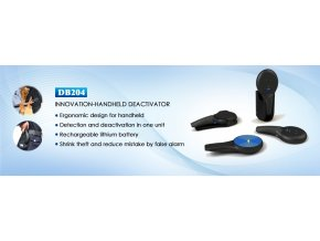 Ruční RF deaktivátor a detektor etiket