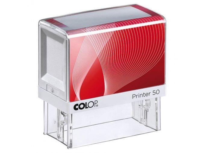 Samonamáčecí razítko COLOP Printer 50 (BARVA INKOUSTU ŽLUTÁ)