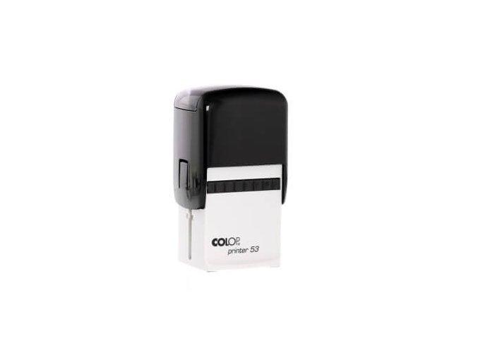 Samonamáčecí razítko COLOP Printer 53 (BARVA INKOUSTU ŽLUTÁ)