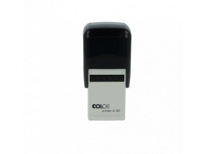 Samonamáčecí razítko COLOP Printer Q30 (BARVA INKOUSTU ŽLUTÁ)