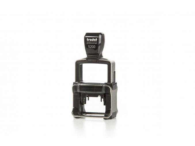 Samonamáčecí razítko TRODAT 5200 - 41x24mm (BARVA INKOUSTU MENTOLOVÁ, BARVA STROJKU ČERNÁ)