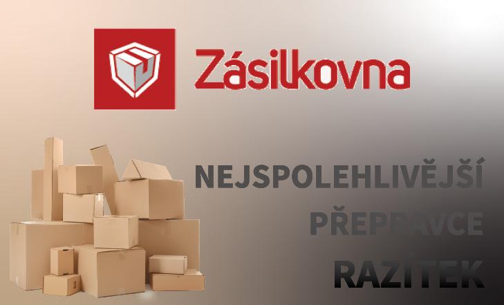 Zásilkovna - nejspolehlivější přepravce razítek po ČR