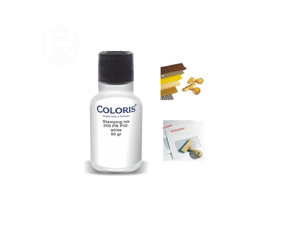 barva coloris stamp 200 pr p 50 ml bila nahled