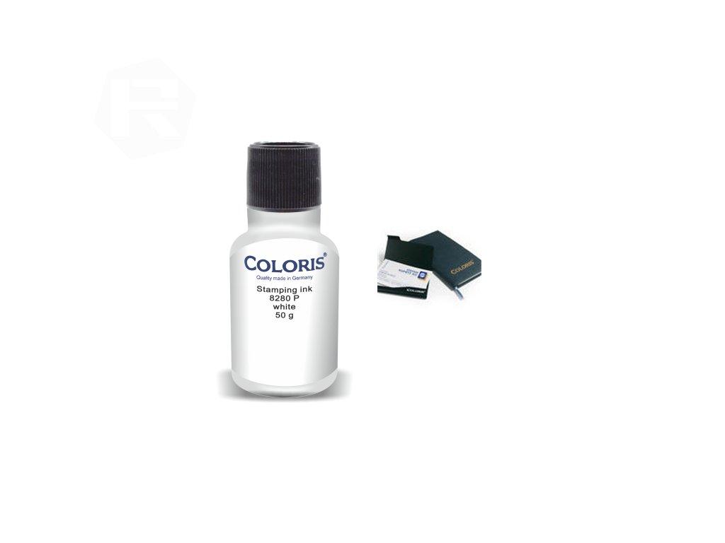 barva coloris stamp 8280 p 50 ml bila nahled
