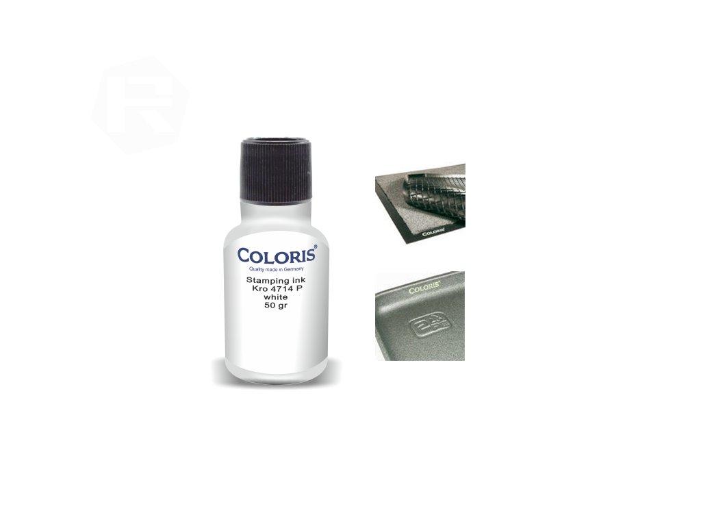 barva coloris stamp kro 4714 p 50 ml bila nahled