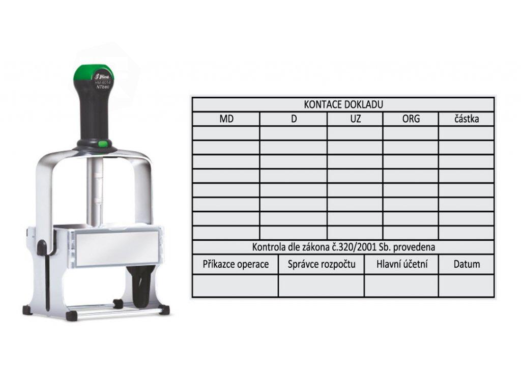 razitko shiny stamp velkoplosne hm 6014 antibac eco kovove tabulky nahled
