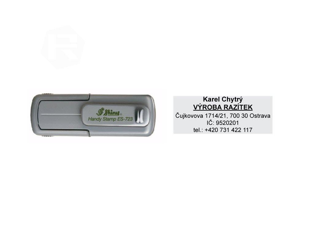 razitko shiny stamp kapesni es 723 eco stredni mobilni nahled