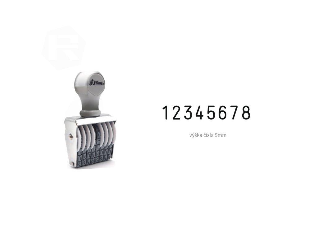 razitko shiny stamp office n 38 cislovaci 5 mm nahled