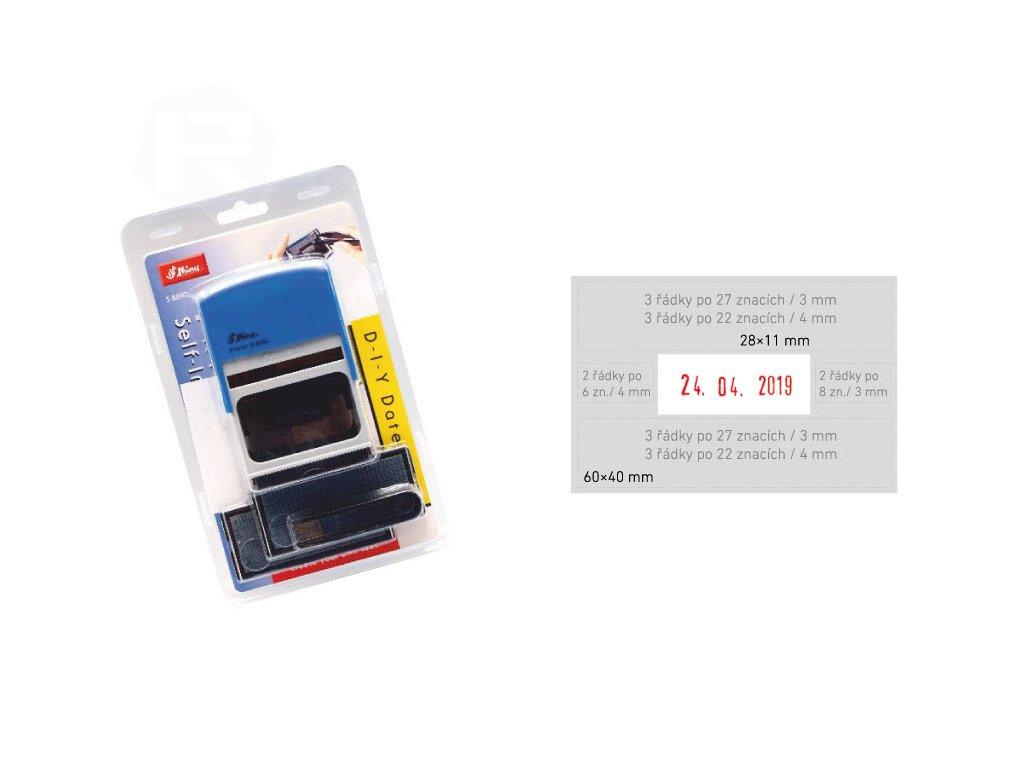 razitko shiny stamp velke s 889d modre sestavovaci datumove nahled