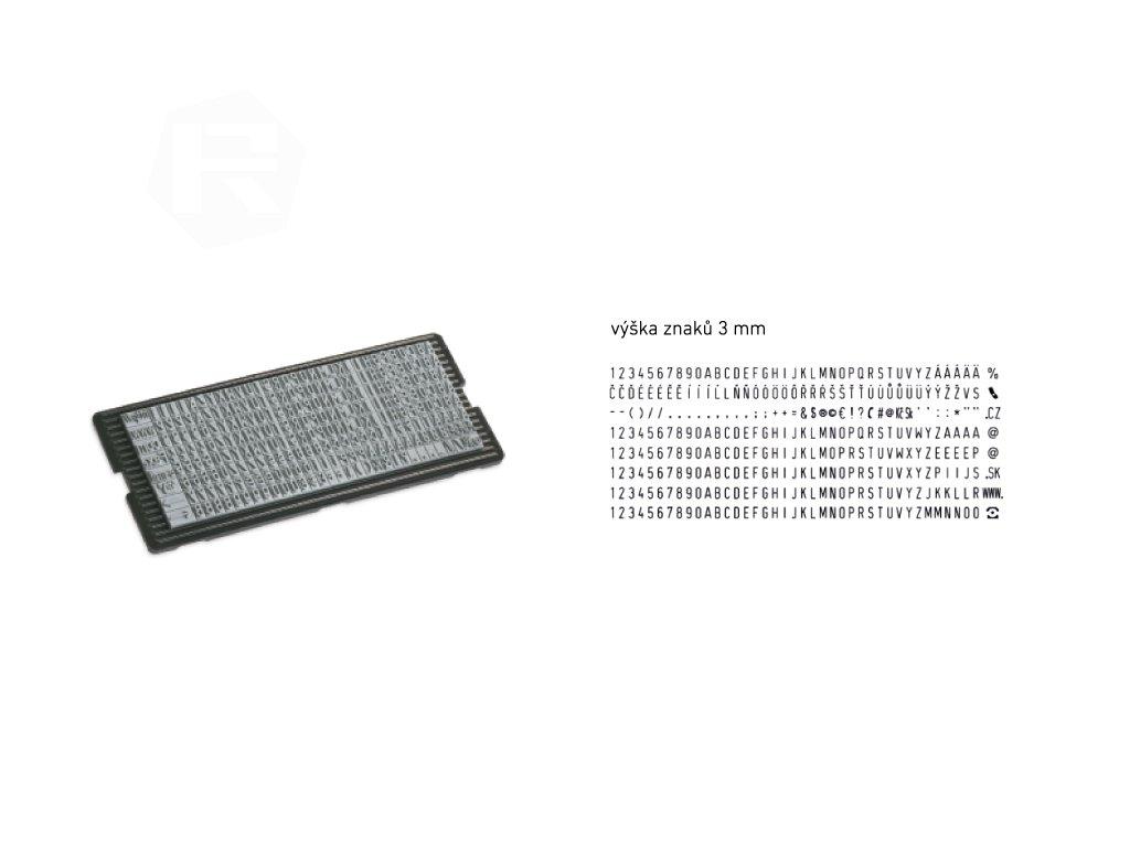 nahradni shiny stamp sada s 647 cz sk 3 mm 2