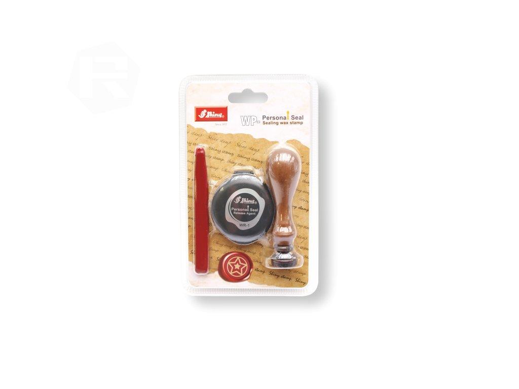 set shiny stamp pecetni wp 055 motiv hvezdicka