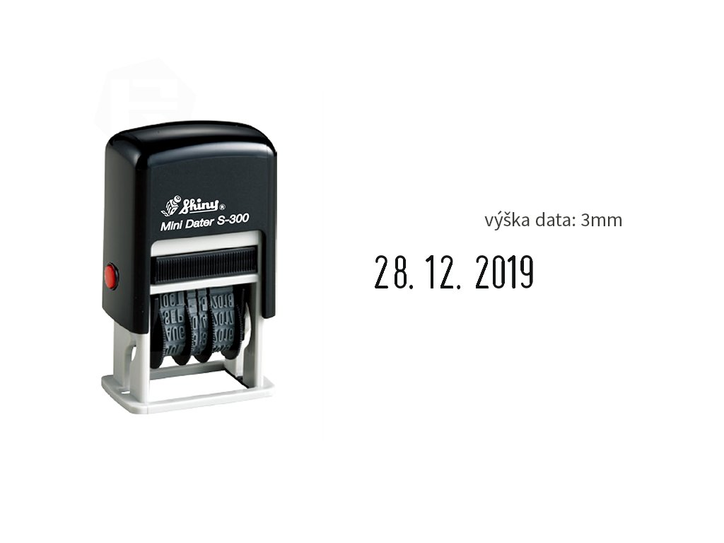 razitko shiny stamp male datumove s 300 3 mm nahled