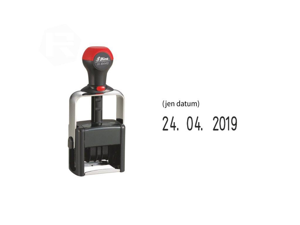 razitko shiny stamp datumove h 6440 kovove nahled