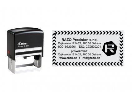 razitko shiny stamp velke s 830 cerne kontacni nahled