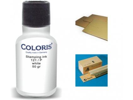 barva coloris stamp 121 p 50 ml bila nahled