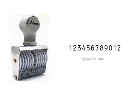 razitko shiny stamp office n 512 cislovaci 3 mm nahled