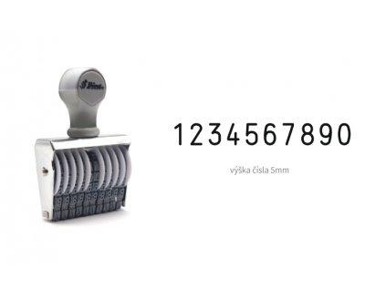 razitko shiny stamp office n 310 cislovaci 5 mm nahled