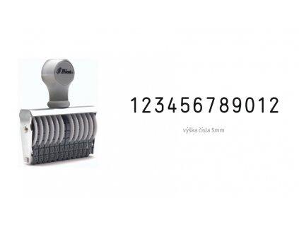 razitko shiny stamp office n 312 cislovaci 5 mm nahled