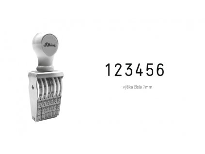 razitko shiny stamp office n 26 cislovaci 7 mm nahled