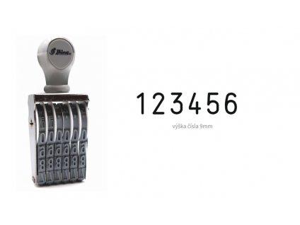 razitko shiny stamp office n 16 cislovaci 9 mm nahled