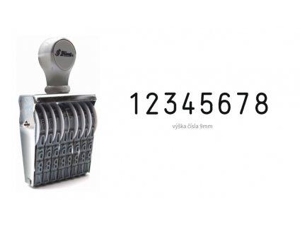 razitko shiny stamp office n 18 cislovaci 9 mm nahled