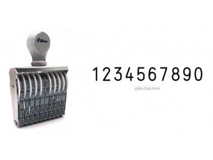 razitko shiny stamp office n 110 cislovaci 9 mm nahled