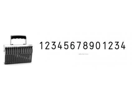 razitko shiny stamp office n a14 cislovaci 15 mm nahled