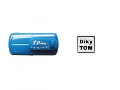 razitko shiny stamp kapesni s q12 male mobilni modre nahled