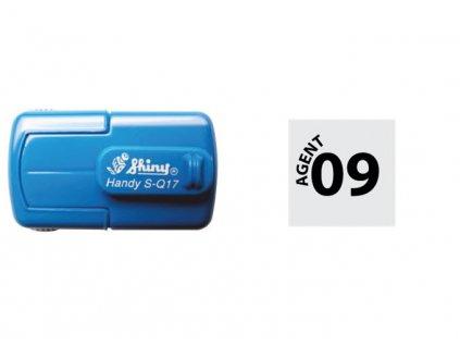 razitko shiny stamp kapesni s q17 male mobilni modre nahled