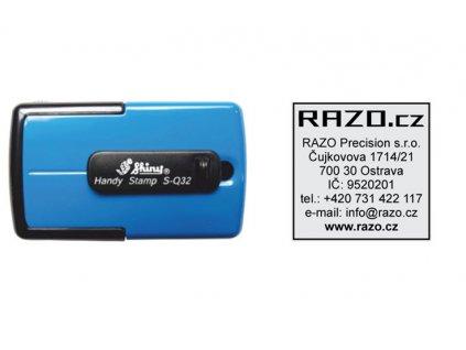 razitko shiny stamp kapesni s q32 vetsi mobilni modre nahled