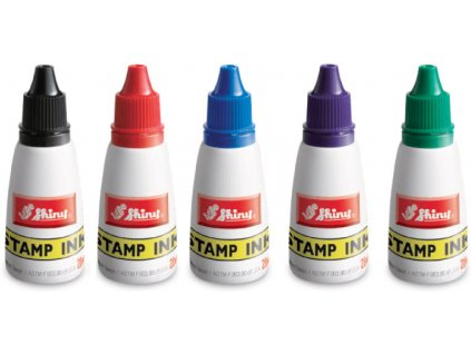 barva shiny stamp s standardni