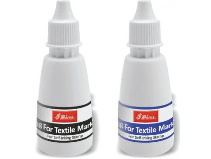 barvy shiny stamp textilni nahled