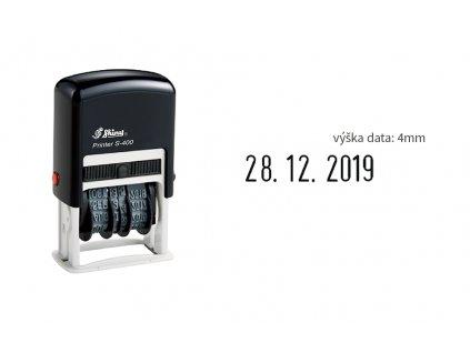 razitko shiny stamp stredni datumove s 400 4 mm nahled