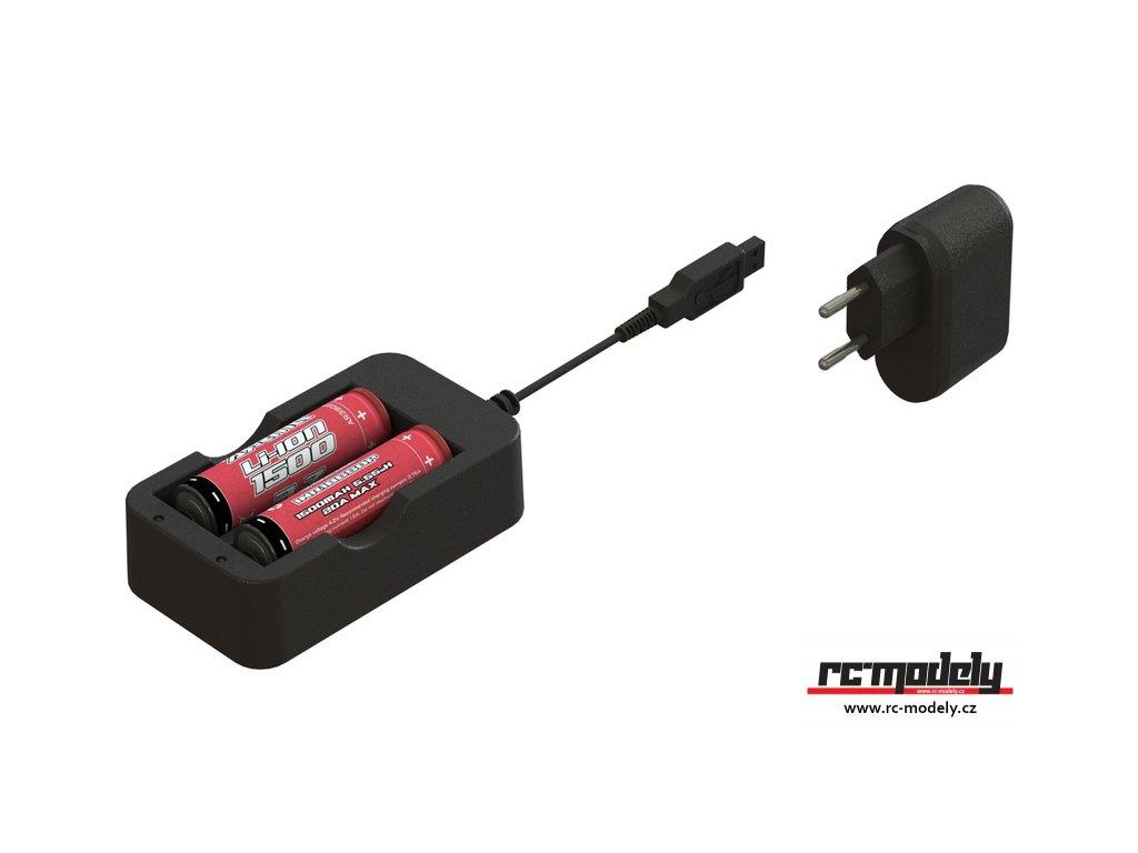 AR390266 Arrma sada LiIon baterie + nabíječ ADC-L2 EU