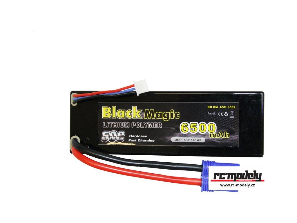 Black Magic LiPol Car 7.4V 6500mAh 50C EC3