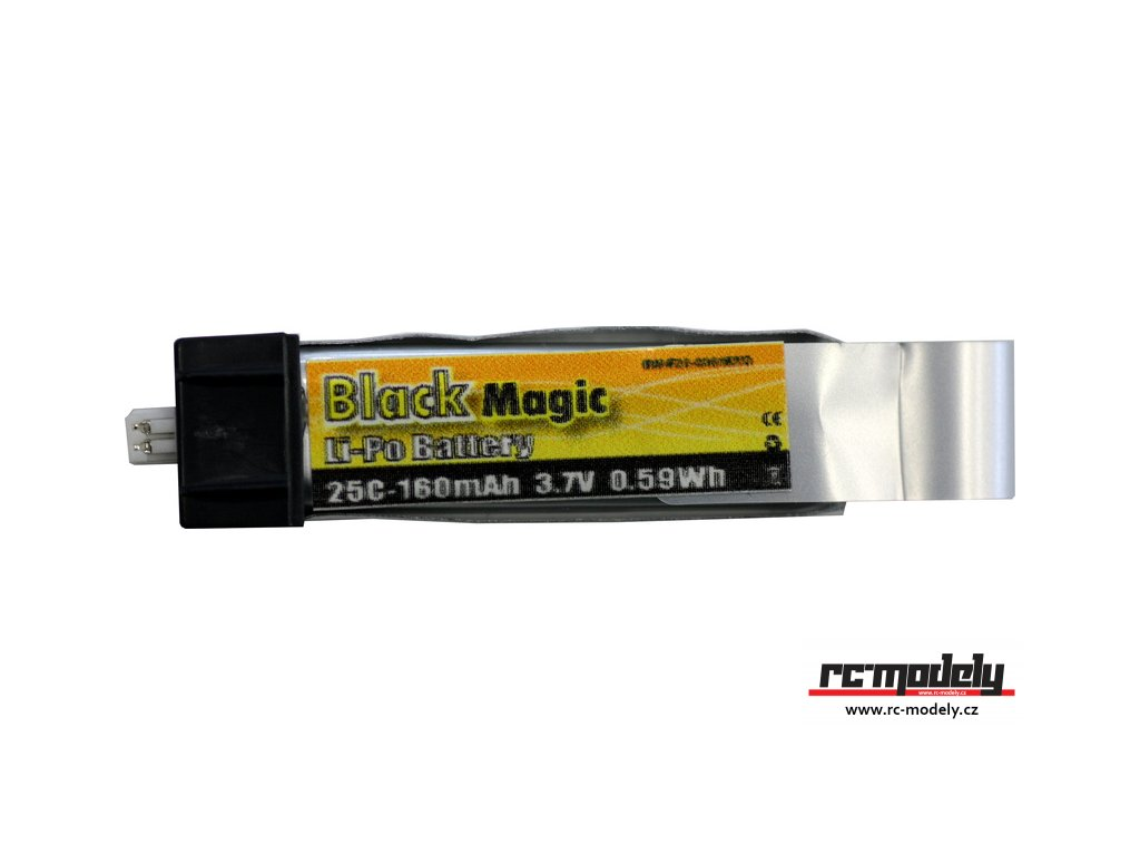 Black Magic LiPol 3.7V 160mAh 25C EFL