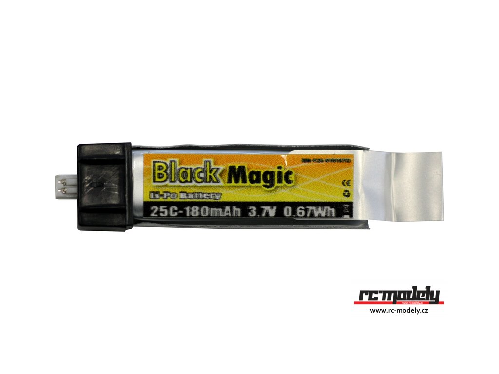 Black Magic LiPol 3.7V 180mAh 25C EFL