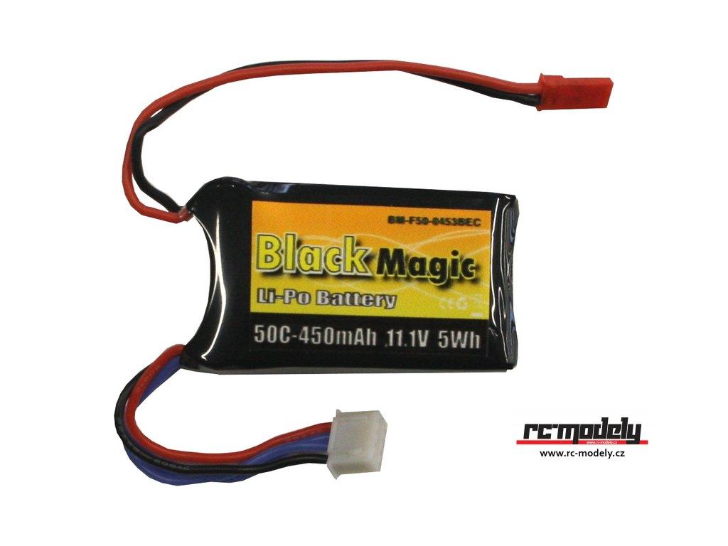 Black Magic LiPol 11.1V 450mAh 50C JST