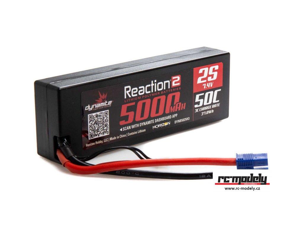 Dynamite LiPo Reaction2 7.4V 5000mAh 50C EC3
