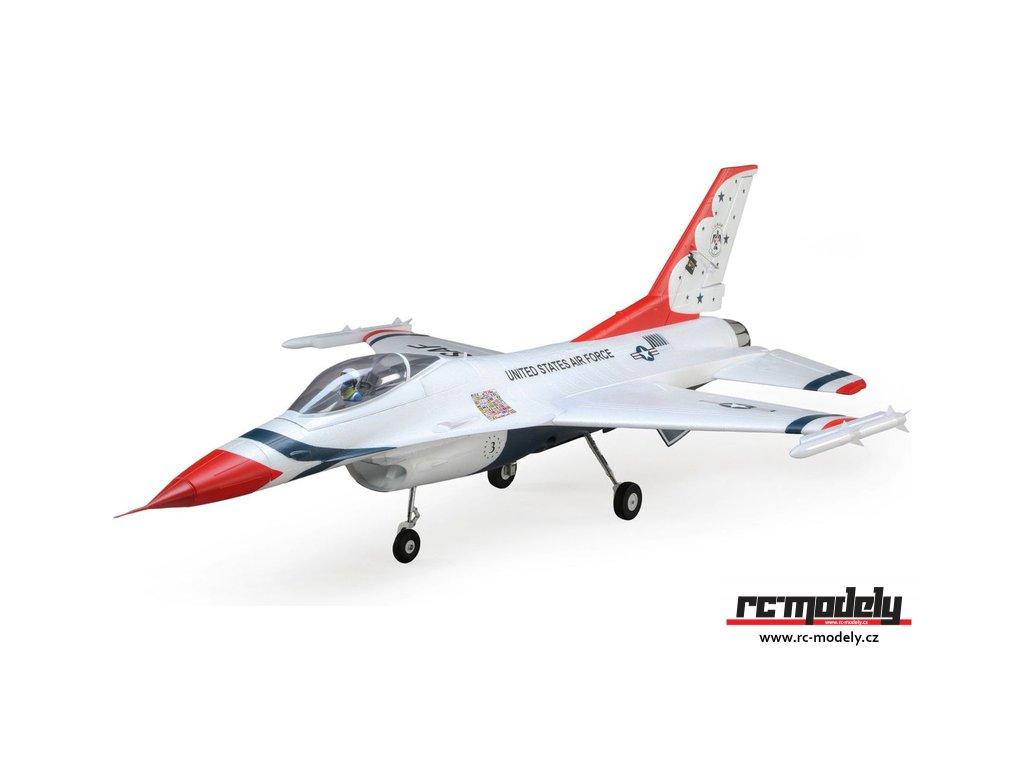 E-flite F-16 Thunderbirds 0.8m SAFE Select BNF Basic