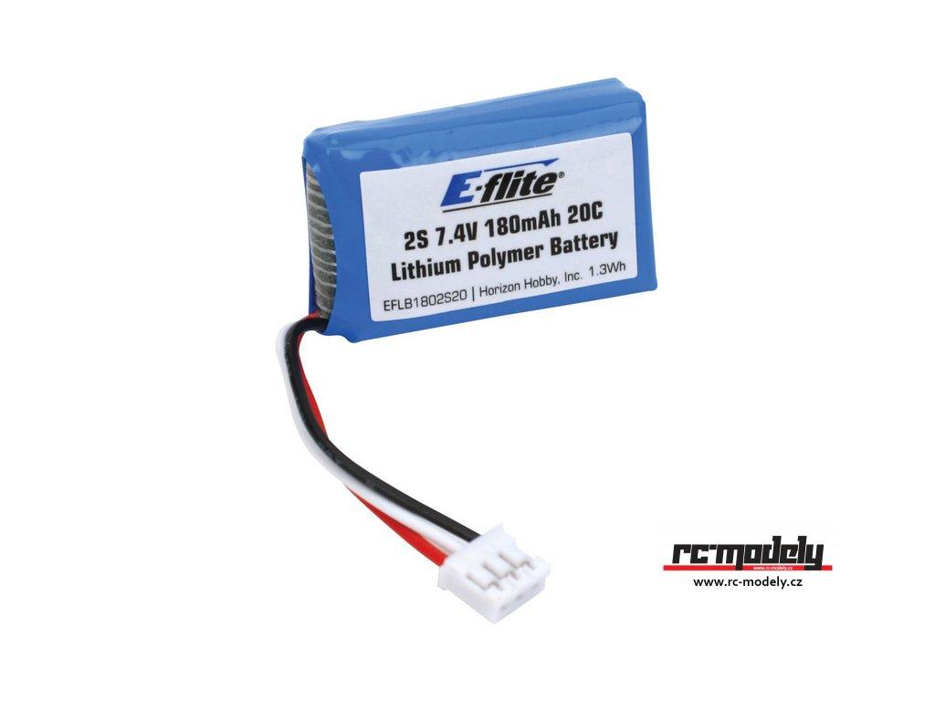 E-flite LiPo 7.4V 180mAh 20C