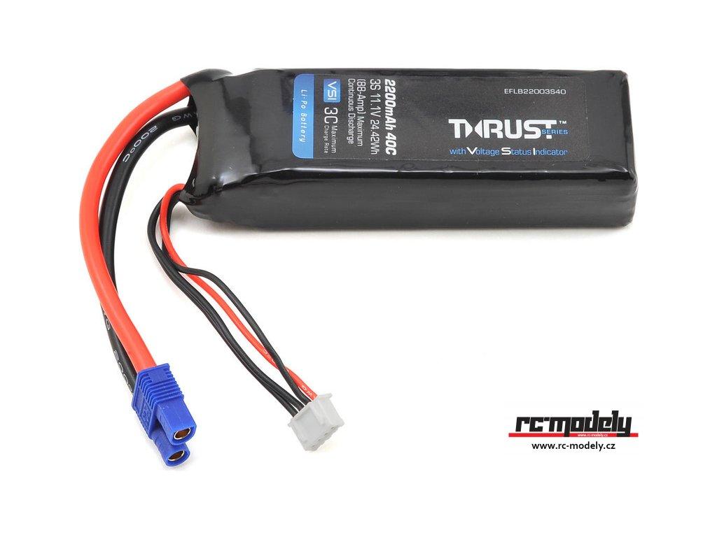 E-flite LiPo Thrust VSI 11.1V 2200mAh 40C