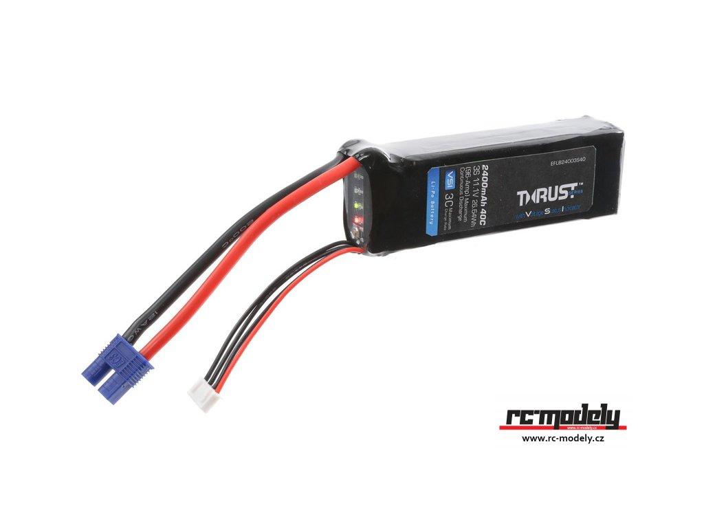 E-flite LiPo Thrust VSI 11.1V 2400mAh 40C