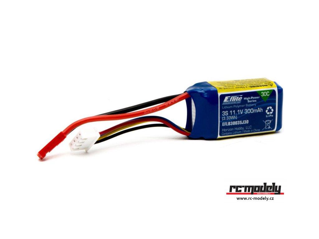 E-flite LiPo 11.1V 300mAh 30C JST