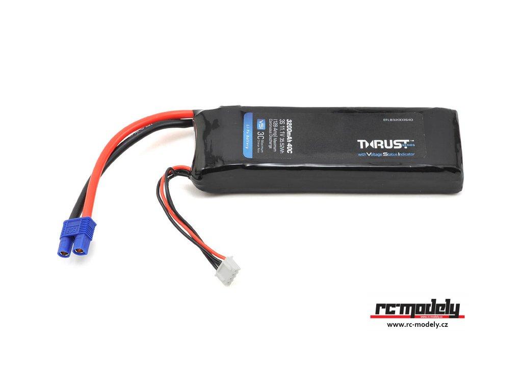 E-flite LiPo Thrust VSI 11.1V 3200mAh 40C EC3