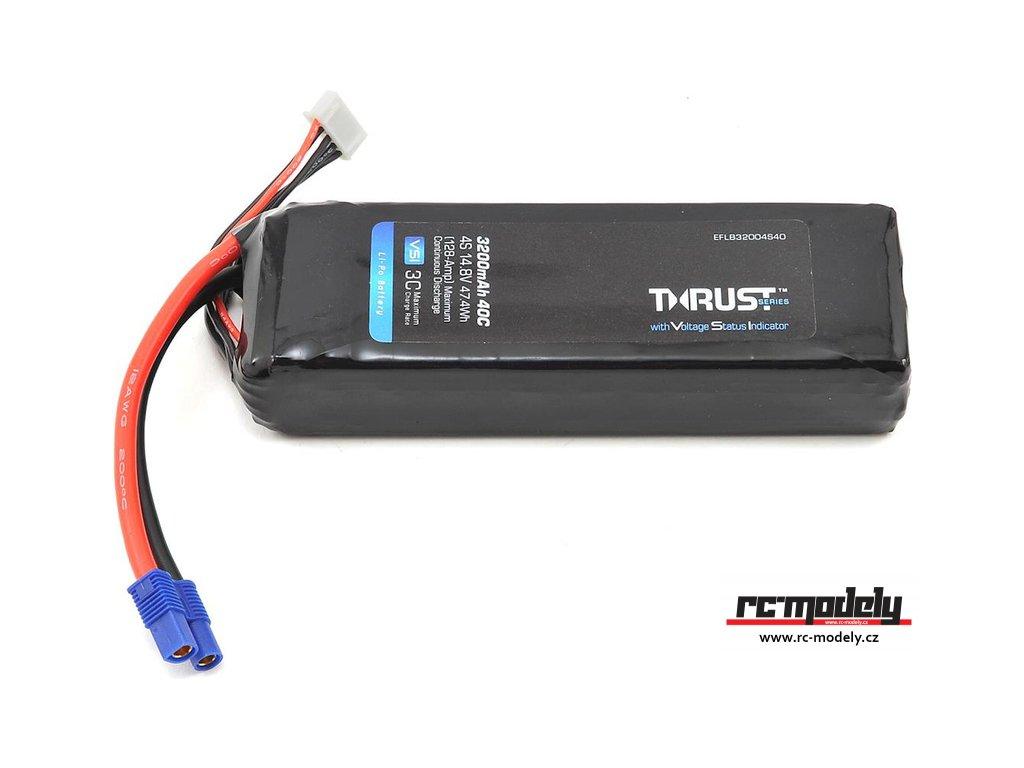 E-flite LiPo Thrust VSI 14.8V 3200mAh 40C EC3